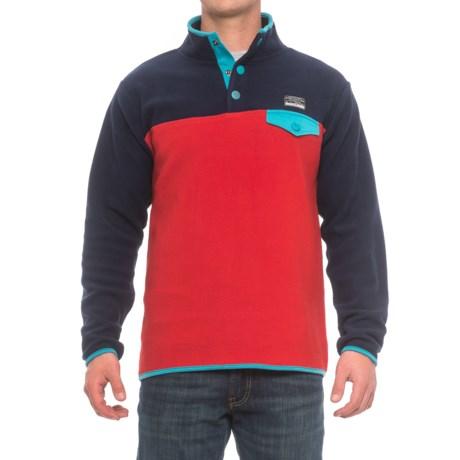 Free Nature Color-Block Fleece Shirt - Snap Neck, Long Sleeve (For Men)