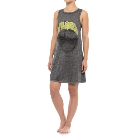 Retrospective Escape the City Flared Nightshirt - Sleeveless (For Women)