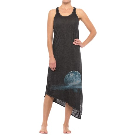 Retrospective Starry Landscape Nightgown - Sleeveless (For Women)