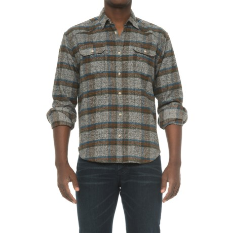 Free Nature Plaid Twill Flannel Shirt - Long Sleeve (For Men)