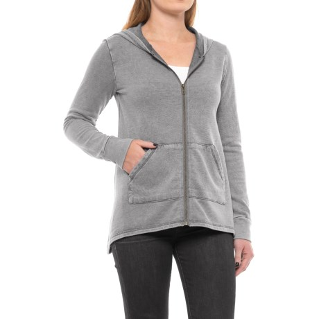 Chelsea & Theodore Zip-Front Hoodie (For Women)