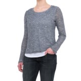 Chelsea & Theodore Layered Sweater (For Women)
