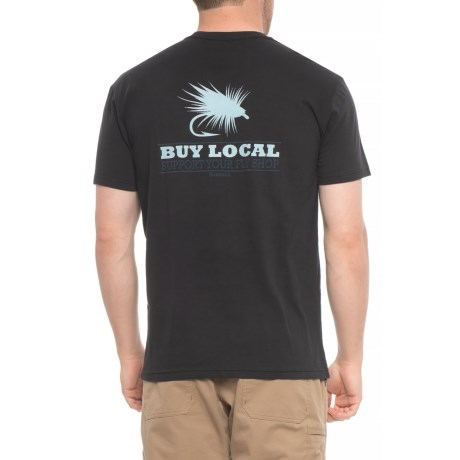 Simms Buy Local Trout T-Shirt - Short Sleeve (For Men)