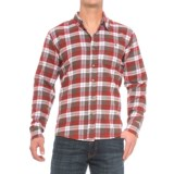 Cold Storage Plaid Flannel Shirt - Long Sleeve (For Men)