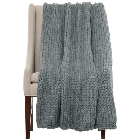 "Nicole Miller Himalaya Knit Throw Blanket - 50x60"""