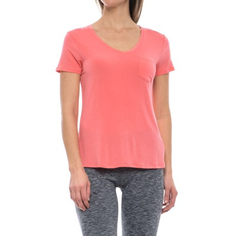 prAna Foundation Shirt - Stretch Modal, Short Sleeve (For Women)