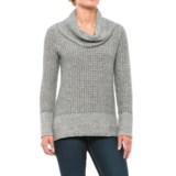 Eight Eight Eight Herringbone Sweater - Cowl Neck (For Women)