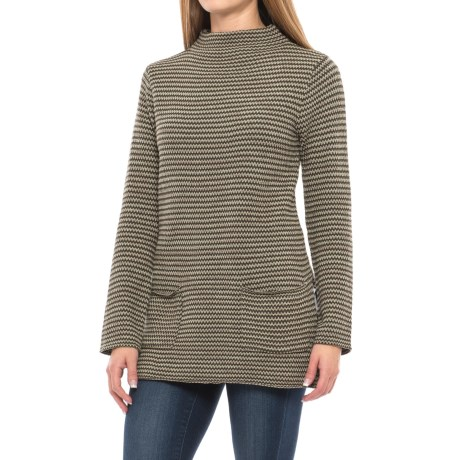 Eight Eight Eight Funnel Neck Sweater (For Women)