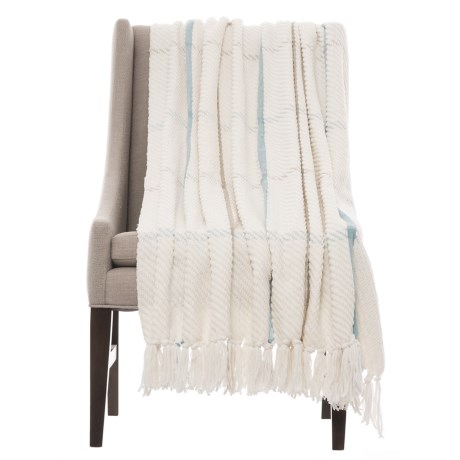 Cynthia Rowley Henley Throw Blanket - 50x60""