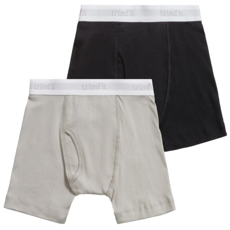 Trimfit Boxer Briefs - 2-Pack (For Little and Big Boys)