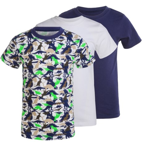 Trimfit Cotton T-Shirts - 3-Pack, Short Sleeve (For Little and Big Boys)