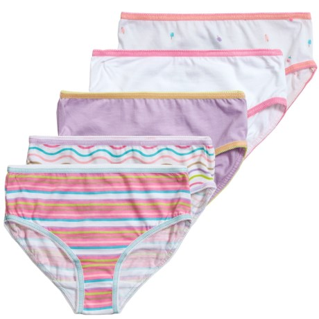 Trimfit Tag-Free Panties - 5-Pack (For Little and Big Girls)