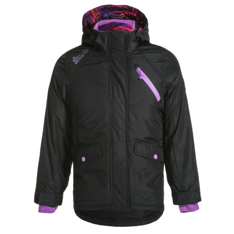 Big Chill Board Jacket with Vestee - Insulated (For Little Girls)