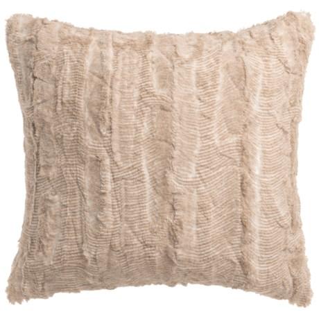 "THRO Santana Back-to-Back Faux-Fur Pillow - 20x20"""