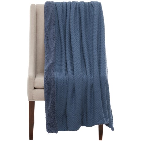 "THRO Iztel Fleece Throw Blanket - 50x60"", Reversible"