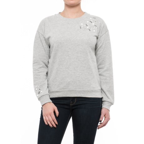 Cupio Blush Gemstone Sweatshirt (For Women)