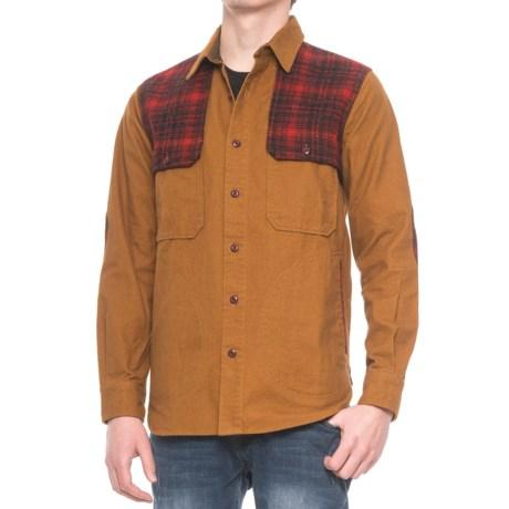 Woolrich Mix-Up Shirt Jacket - Long Sleeve (For Men)