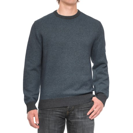 Woolrich Alaskan Twill Sweater - Cotton Blend, Crew Neck (For Men)
