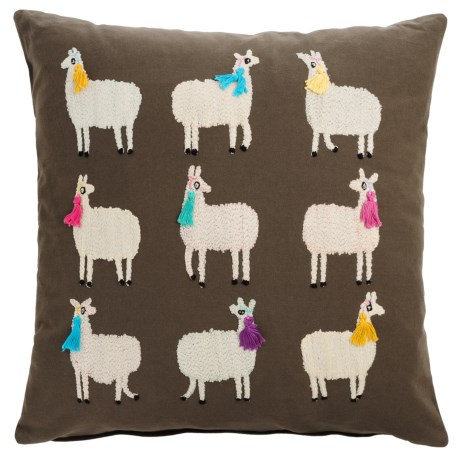 "Loloi Alpaca Decor Pillow - 22x22"""
