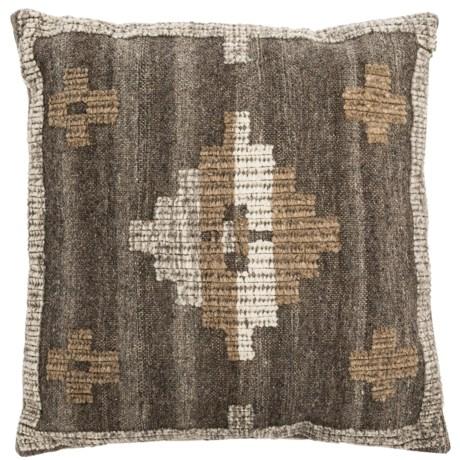 "Loloi Neutral Pattern Decor Pillow - 22x22"""