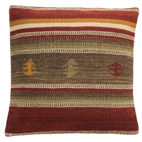 Loloi Native Stripe Decor Pillow - 18x18""