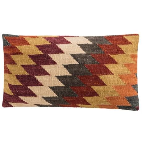 "Loloi Diamond Decor Pillow - 13x21"""