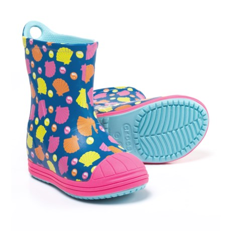 Crocs Bump It Printed Rain Boots - Waterproof (For Girls)