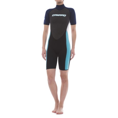 Camaro Mono Revo Flex Shorty Wetsuit - 2mm (For Women)