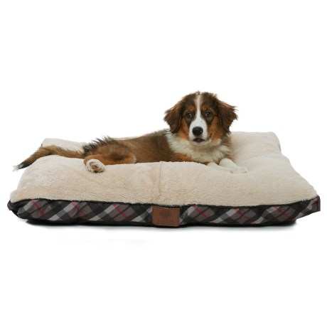 AKC Plush Dog Bed- 36x27""