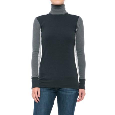Alternative Apparel City Block Turtleneck - Long Sleeve (For Women)