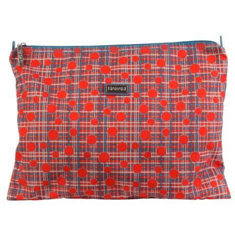 "HADAKI Zip Travel Pouch - 10.5x14"" (For Women)"