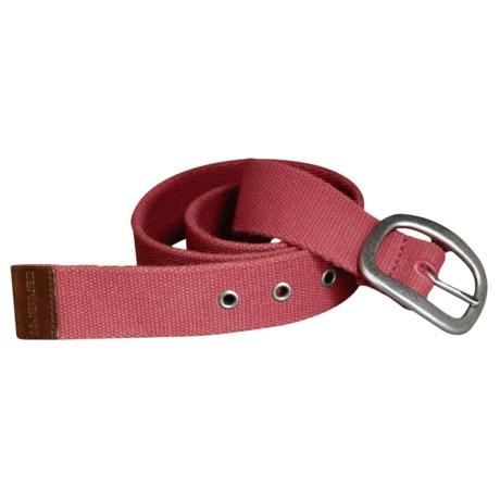 Carhartt Canvas Belt (For Women)