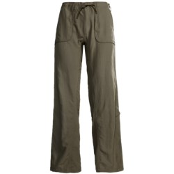Stillwater Supply Co. Nylon Roll-Up Pants - UPF 40+, Drawstring Waist (For Women)