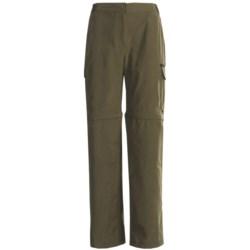 Stillwater Supply Co. Zip-Off Pants - Cotton-Nylon (For Women)