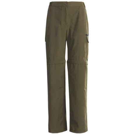 Stillwater Supply Co. Zip-Off Pants - Cotton-Nylon (For Women)