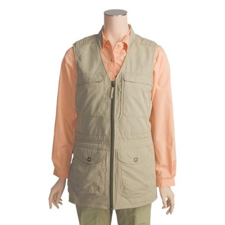 ExOfficio Multi Cargo Pocket Gobi Vest (For Women)