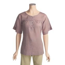 ExOfficio Next-to-Nothing Zevra Shirt - Short Sleeve (For Women)
