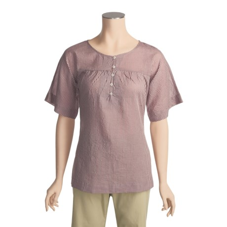 ExOfficio Next-to-Nothing Zevra Shirt - Short Sleeve (For Women)