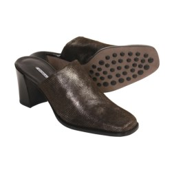 Donald J Pliner Inoa Stretch Mules - Handmade (For Women)