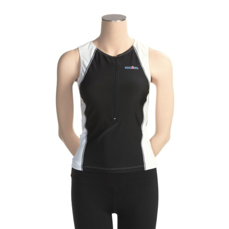 TYR Ironman Singlet Tank Top - UPF 50 (For Women)