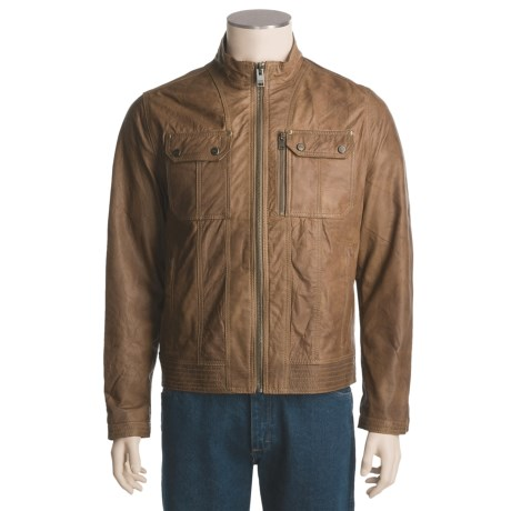 Marc New York by Andrew Marc Motorcycle Jacket - Bronson (For Men)