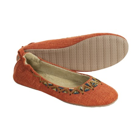 Acorn Tribal Ballet Slippers (For Women)