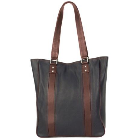 HADAKI City Tote Bag - Leather (For Women)