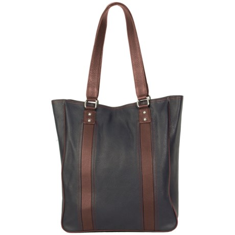 HADAKI City Tote Bag - Leather (For Women)