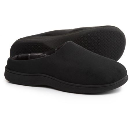 Dearfoams Sueded Clog Slippers (For Men)