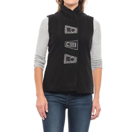 Icelandic Design Lydia Vest - Boiled Wool (For Women)