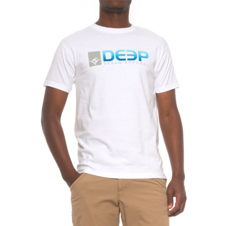 Deep DEEP Cotton Logo T-Shirt - Crew Neck, Short Sleeve (For Men)