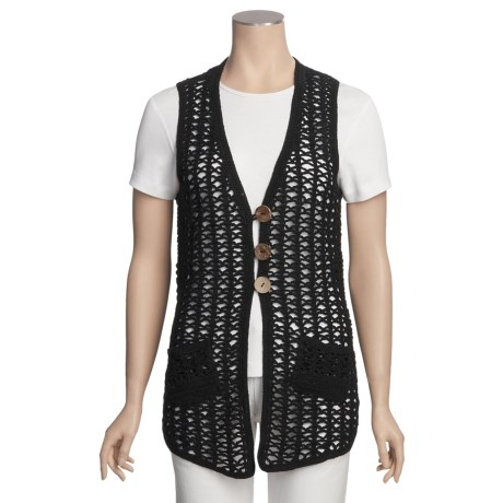 SML Design Crocheted Vest (For Women)