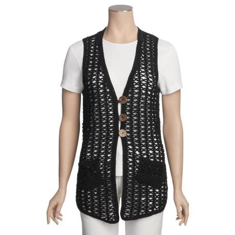 SML Design Crocheted Vest (For Women)