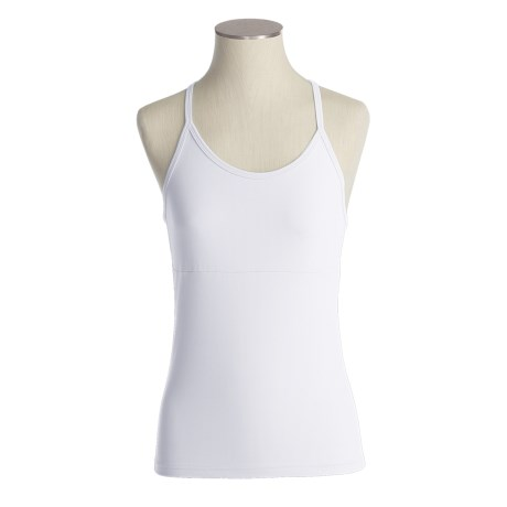 Zobha Classic Racer Tank Top - Built-In Support (For Women)